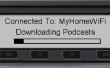 Voiture Podcast downloader et lecteur