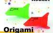 Comment origami une fusée