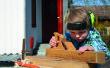 Pour travailler le bois avec les enfants comment à: Fox et les moutons jouer Conseil