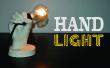 Main de lumière