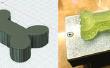 Un os d'impression sur l'imprimante de braise