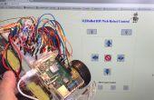 IoT - contrôler un Robot de Pi framboise sur internet avec HTML et shell scripts seulement