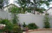 Donner votre yard fraîche et colorée lifting avec clôture de vinyle