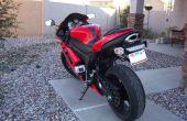 Monture de la caméra pour une moto (peg arrière)