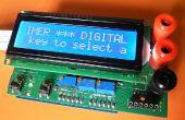 Algorithme de multimètre numérique shield pour Arduino