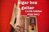 Cigar Box guitare avec Hidden Whiskey Mini-Bar
