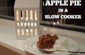 Tarte aux pommes dans une mijoteuse