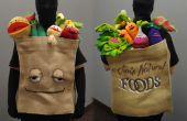 Épicerie sac de Muppet fruits et légumes Costume