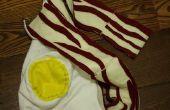 Bacon oeuf foulard/capuche