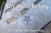 Gravure de métal bricolage