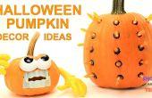Idées déco citrouille Halloween simple