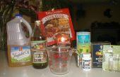Comment faire de gommage/hydratant rub sel