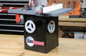 SawSquawk Birdhouse (inspiré par SawStop)