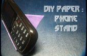 Comment faire Origami téléphone Stand