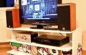 Un PC enfermé dans un meuble IKEA Benno TV