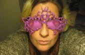 Masque de paillettes pour les lunettes !