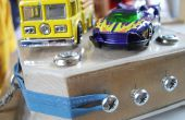 Rubber Band propulsé « Hot Wheels » type lanceur de voiture