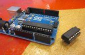 ATTiny propulsé projets Arduino - je l'ai fait à TechShop