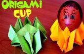Instructions de Pâques - coquetier de papier - origami