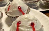 Cupcakes de morsure de Vampire facile