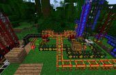 Minecraft : Tekkit Instructables ; Raffineries de pétrole.