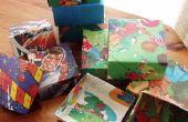 Comment faire une boîte-cadeau recyclé :