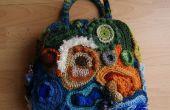 FreeForm Crochet sac :