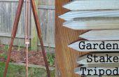 Vintage Style jardin jeu trépied