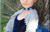 Costume Princesse paon (queue entièrement articulée)