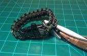 Trousse de survie à l'intérieur de Bracelet en paracorde A