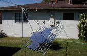 Concentrateur solaire parabolique plurigérée