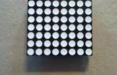 Connecter une matrice de 8 x 8 LED à une petite maquette