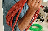 Comment sauver un cordon d'alimentation Over-Twisted