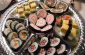 Plateau de Sushi à peu