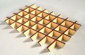 Créer évolutive emboîtement laser parties coupées avec sketchup slicemodeler