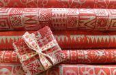 Batik Noël Papier cadeaux