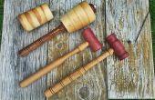 Artisan maillets pour maroquinerie, travail du bois et la sculpture