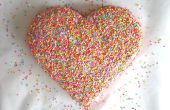 Comment faire un gâteau coeur