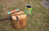 Bouclier de splitter pour le bois d'allumage hache