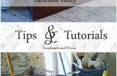 Comment : convertir une commode dans une vanité de salle de bains