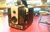 Webcam dans un appareil de Brownie Hawkeye