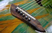 Usiné CNC pont guitare - faite à Techshop