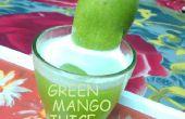 Faire un jus de mangue verte