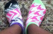 Comment faire pour mettre sur les chaussettes