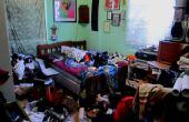 Comment faire honte de vous-même dans votre chambre de nettoyage.