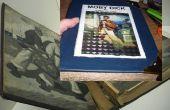 Réparer un vieux livre classique (reliaison).