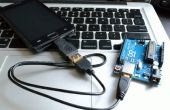 Communication série USB Android Arduino avec câble OTG