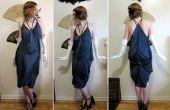 Transformer une robe de Style années 1920 mouchoir 3 foulards de soie et 3 coutures