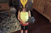 Hawkgirl Costume de la jeune fille