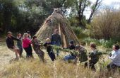 Faire une corde Tug-O-War de herbe - par Thomas J. Elpel